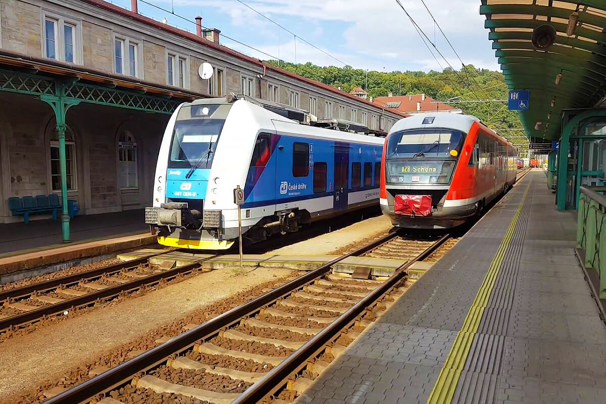 Železniční stanice Děčín hl.n.